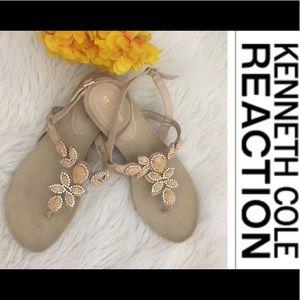 💐Kenneth Cole Reaction Quartz Stone Sandals 9 1/2